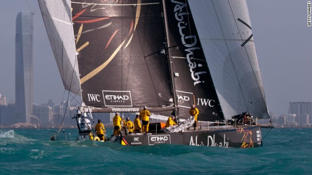 Last month Abu Dhabi hosted the Volvo Ocean Race. 