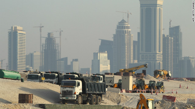 Qatar's economy has boomed since it started exporting liquefied natural gas in 1997 -- only Luxembourg has a higher gross domestic product per capita. But the 2022 World Cup has sparked a construction boom in a race to ready Qatar's infrastructure for the tournament.
