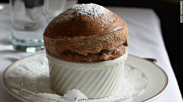 National chocolate soufflé day