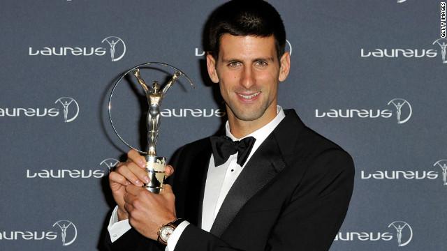 Novak Djokovic y el FC Barcelona, premios Laureus a lo mejor del deporte en 2011