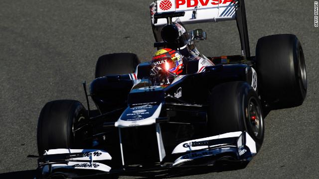 Pastor Maldonado, Piloto de Formula 1 em 2011 - edition.cnn.com