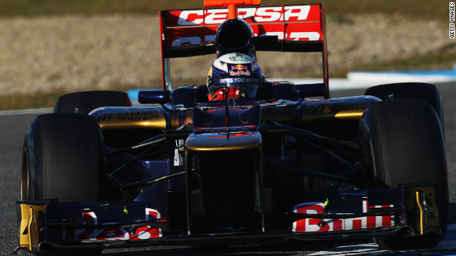 Ricciardo is a rising talent in Formula One, having raced for Spanish team HRT in the second half of 2011.