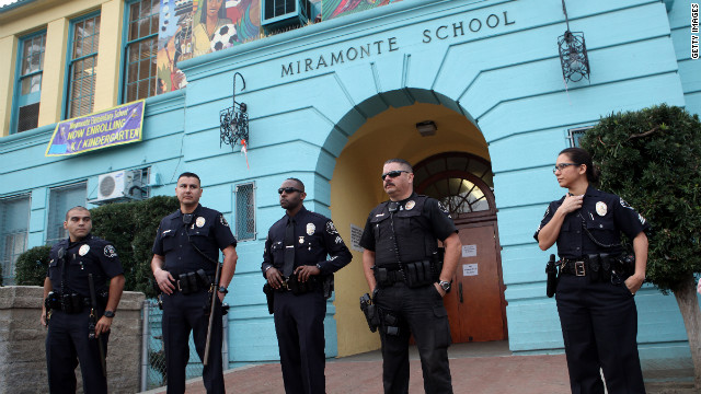 LA elementary school, at center of abuse probes, replaces staff