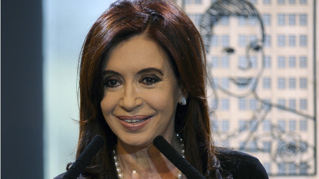 Argentinian President Cristina Fernandez de Kirchner