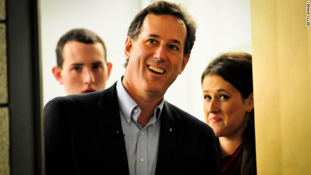 Overheard on CNN.com: Santorum shakes up GOP race, but will he last?