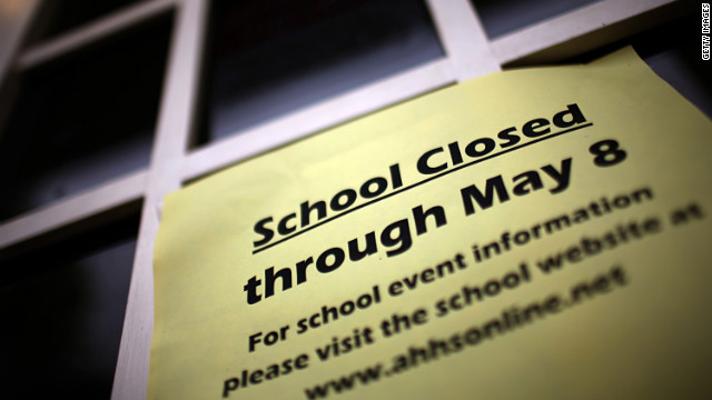 Closing schools could stop the flu