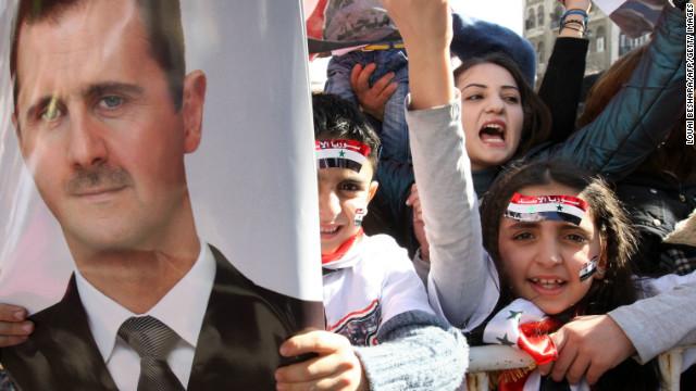 El presidente de Siria anuncia un referéndum constitucional para el 26 de febrero