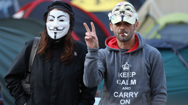Occupy London: Terror Threat?
