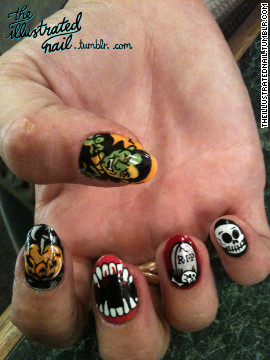 Her work was featured in Nailphilia, London's first nail art exhibit in 2011, alongside industry greats including Marian Newman and Sophy Robson.