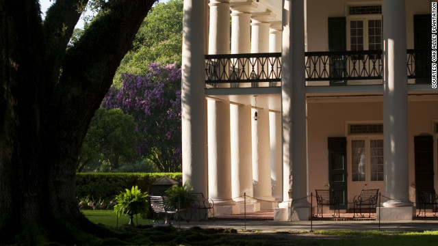 The antebellum Greek-revival style big house and grounds of the Oak Alley Plantation in Vacherie, Louisiana, draw history and architecture buffs.