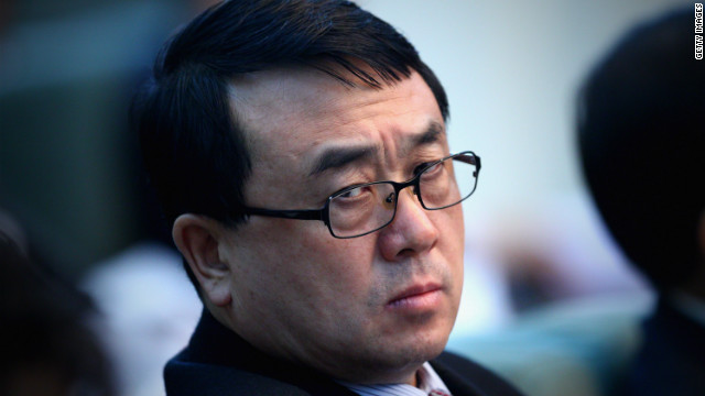 Wang Lijun pictured last year at the National People's Congress in Beijing.
