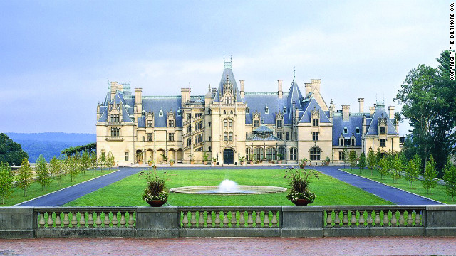 For another look at lifestyles of an earlier era, visit the Biltmore House in Asheville, North Carolina. The mansion was contructed over a six-year period for George Vanderbilt and officially opened in 1895.