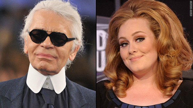 Karl Lagerfeld backtracks after calling Adele fat
