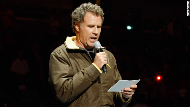 Will Ferrell pokes fun at NBA players in lineup intros
