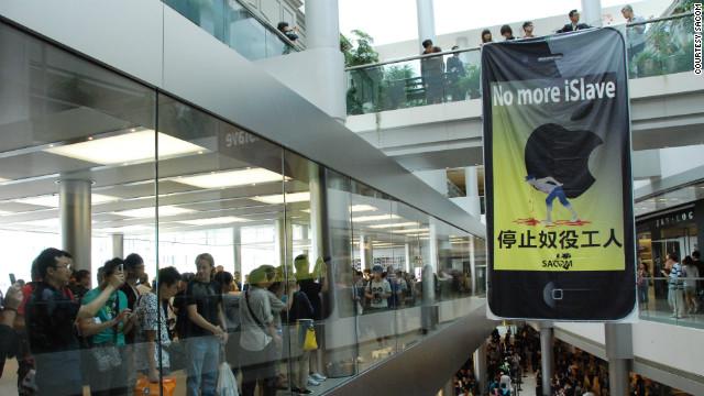 Apple buscará mejorar las condiciones de sus empleados en China