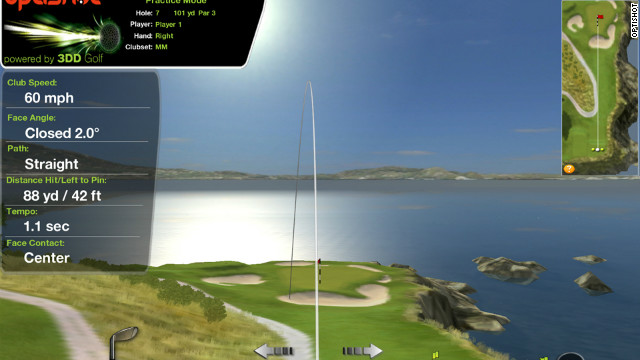 This new at-home simulator means players can use their own clubs to take on their friends or test themselves on replicas of major championship venues and other world-famous courses.