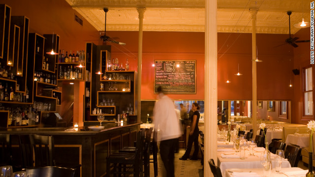New Orleans is a culinary paradise. Lilette, located on Magazine Street, serves French- and Italian-inspired cuisine.