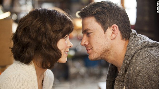 Rachel McAdams and Channing Tatum play a husband and wife who have to rediscover each other in