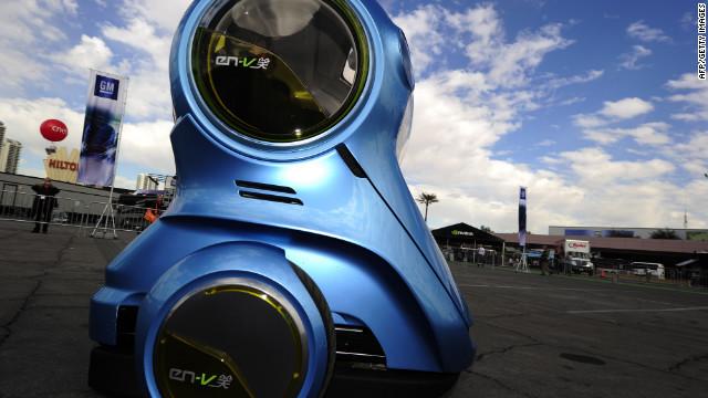 The tiny, creepy cars of the future