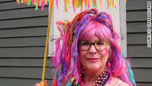 New Orleans transplant Cree McCree creates Mardi Gras costumes for herself and others.