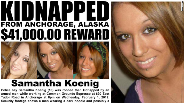 Young barista's abduction sparks fear in Anchorage