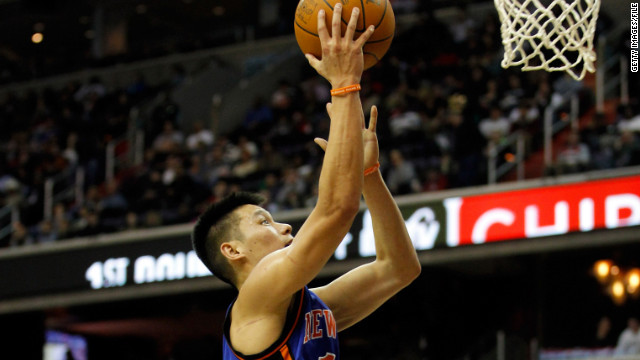 For NBA's Lin, all pun and games