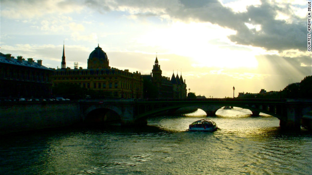 Jeremy La Zelle took this &quot;dreamy&quot; photo of the River Seine. &quot;Located within stylish and elegant Paris, the River Seine evokes a grand feeling of nostalgia and romance.&quot;