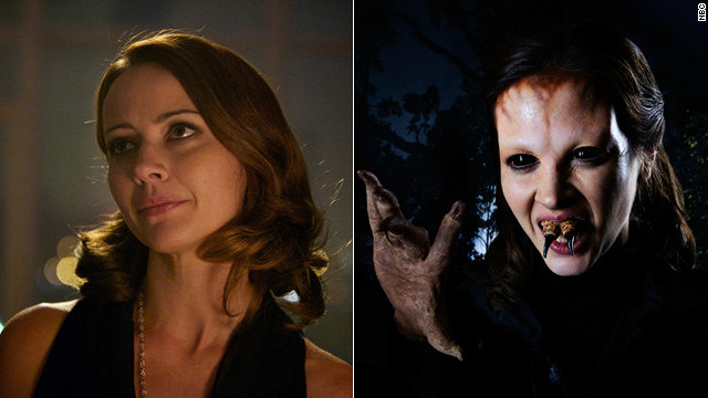 Amy Acker not so 'Angel'ic on 'Grimm'