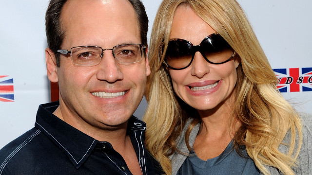 "Russell Armstrong, left, hanged himself in 2011 while appearing on Bravo's ""Real Housewives of Beverly Hills."" The series featured his estranged wife, Taylor, grappling with the aftermath of his suicide."