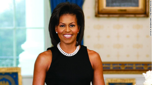 First lady Michelle Obama says there's been real progress on providing healthier eating and activity choices for our children.