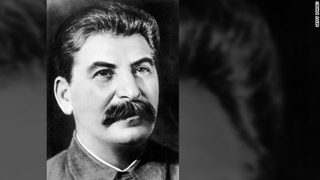 "Former Soviet tyrant Joseph Stalin wrote in one letter to his wife Nadya, while she was away from him seeking treatment for headaches in Germany, ""I miss you so much Tatochka. ...I'm as lonely as a horned owl."""