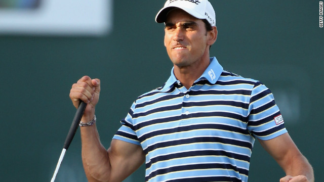 Rafael Cabrera-Bello of Spain wins Dubai Desert Classic