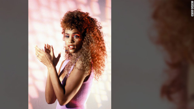 """I Wanna Dance With Somebody"" was a hit single from Houston's second album, titled ""Whitney."""