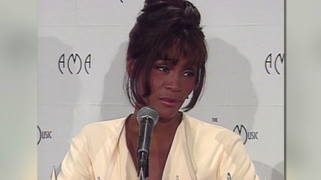 whitney houston dead 2012