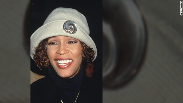 Whitney Houston appears in New York, 1997. 