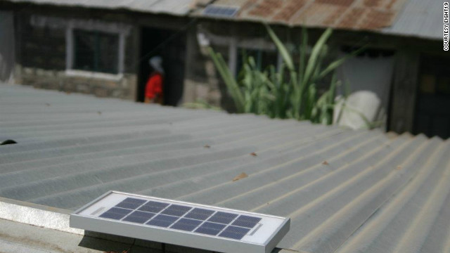 The unique electrification system works by capturing sunlight to charge a 2.5 watt battery during daylight hours.