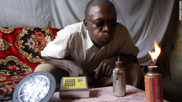 Solar power lights up Africa