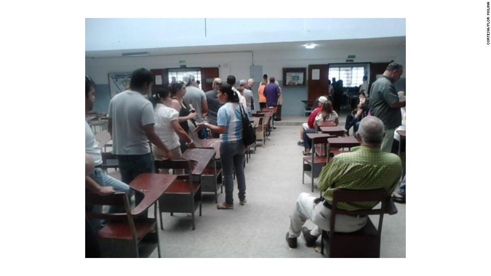 La oposición venezolana se volcó a las urnas