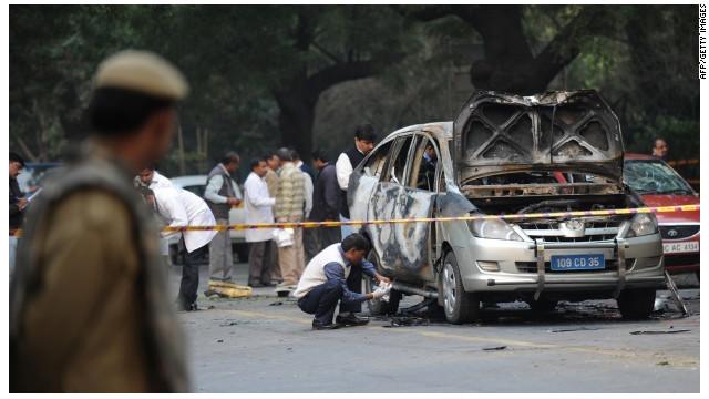 Encuentran explosivos en coches de la Embajada de Israel en la India y Georgia