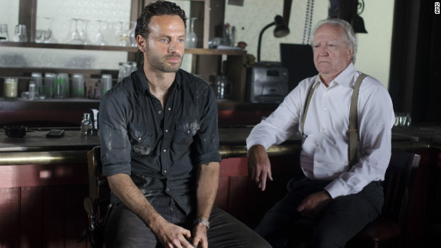 Losing hope on 'The Walking Dead'