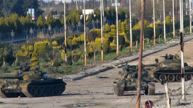 Kofi Annan insta al gobierno de Al Asad a retirar armamento pesado