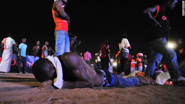 Ivory Coast fans in the city of Abidjan were inconsolable after the defeat in February. The 1992 champions have failed to deliver success despite having star players such as Didier Drogba and brothers Kolo and Yaya Toure.