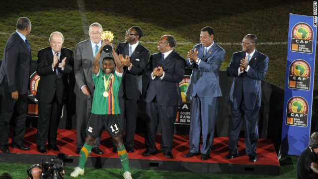 Zambia\'s Cup of Nations victory