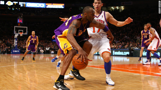 Lin's biggest achievement to date was outplaying Los Angeles Lakers star Kobe Bryant in the New York Knicks' 92-85 win last week. The win extended the Knicks' winning streak to five.