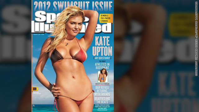 Letterman introduces Sports Illustrated's newest cover girl