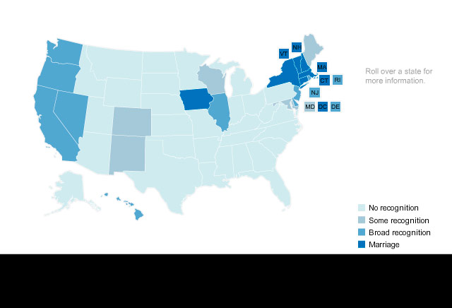 Map: Same-sex marriage laws