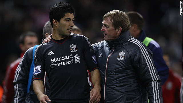 Luis Suarez and Liverpool manager Kenny Dalglish issued apologies on Sunday following the striker's handshake snub on Saturday