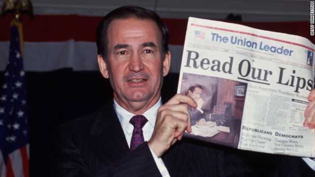 Pat Buchanan runs for president in 1992. He would deliver his