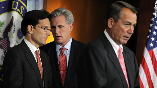 House Republicans Eric Cantor, Kevin McCarthy and John Boehner released a statement on the contentious payroll issue.