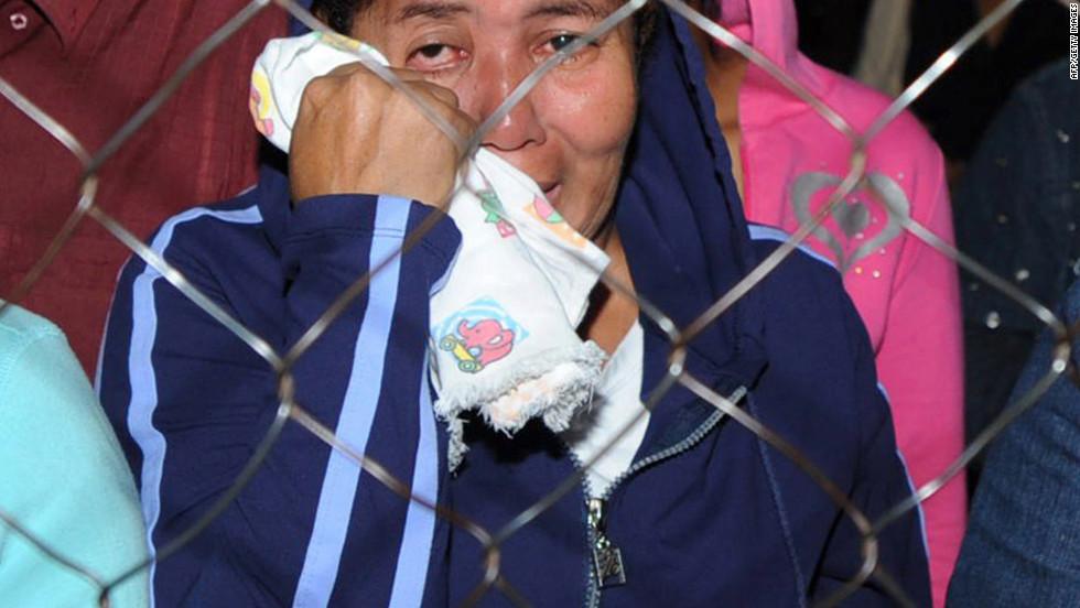 Infierno en la prisión de Comayagua